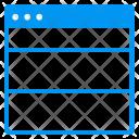 Window layout Icon