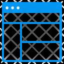 Multiple Windows Layout Icon