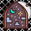 Window Night Icon