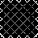 Window Scroll Upwebpage Design Layout Icon