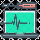 Computer Diagnostic Hardware Icon