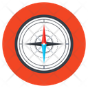 Windrose Compass Navigation Compass Icon