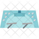 Windshield Car Washing Icon