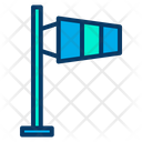 Aviation Windsock Airport Icon