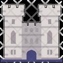 Windsor Castle British Landmark Icon