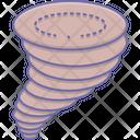Windstorm Tornado Doodle Icon