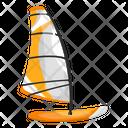 Windsurfing Boat Windsurfing Board Sailboat Icon