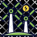 Widnmill Windturbine Eco Icon
