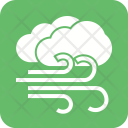 Windy Cloudy Wind Icon
