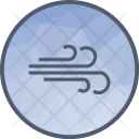 Windy Wind Atmosphere Icon