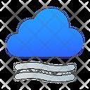 Windy Cloud Wind Icon