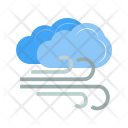 Windy Cloudy Cloud Icon