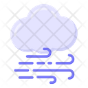Windy Cloud Icon