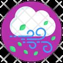 Windy Cloud Windstorm Windy Season Icon