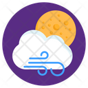 Windy Day Icon