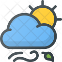 Windy weather Icon