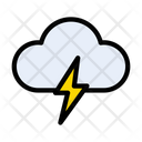 Cloud Storm Nature Icon