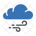 Cloud Winds Nature Icon
