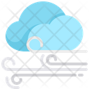 Windy Weather Windy Cloud Weather Overcast Icon
