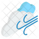 Windy Weather Cloudy Weather Weather Forecast Icon