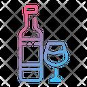Wine Wine Bottle Alcohol Icon