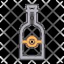Wine Champagne Bottle Icon