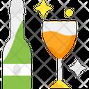 Wine Wine Bottle Drink Icon