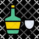 Drink Bottle Wine Icon