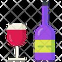Wine Alcohol Grapes Icon