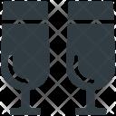 Wine Drinks Glasses Icon