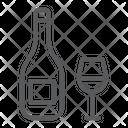 Wine Rosh Hashanah Icon