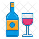 Wine Wine Glass Drink Icon
