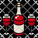 Red Wine Thanksgiving Autumn Icon