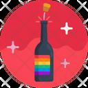 Romance Love Wine Icon