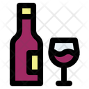 Thanksgiving Wine Drink Icon