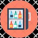 Wine Bottles Cooler Icon
