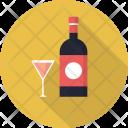 Wine Restaurant Concept Icon