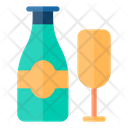 Glass Food And Restaurant Alcoholic Drinks Icon
