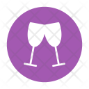 Wine Alcohol Glasses Icon