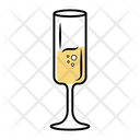 Sparkling Champagne Chateau Icon