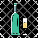 Bottle Sparkling Sherry Icon