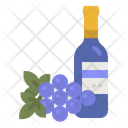 Grape Wine Communion Icon