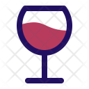 Wine Red Glass Icon