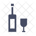 Wine Glass Bottle Icon