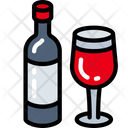Wine Dinner Holiday Icon