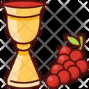 Wine And Grape Wine Grape Icon