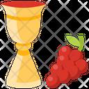 Wine And Grape Icon