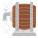 Wine Barrel Barrel Wine Icon