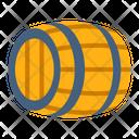Wine Barrel Wine Storage Barrel Icon