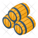 Wine Barrel Wine Storage Barrels Storage Icon